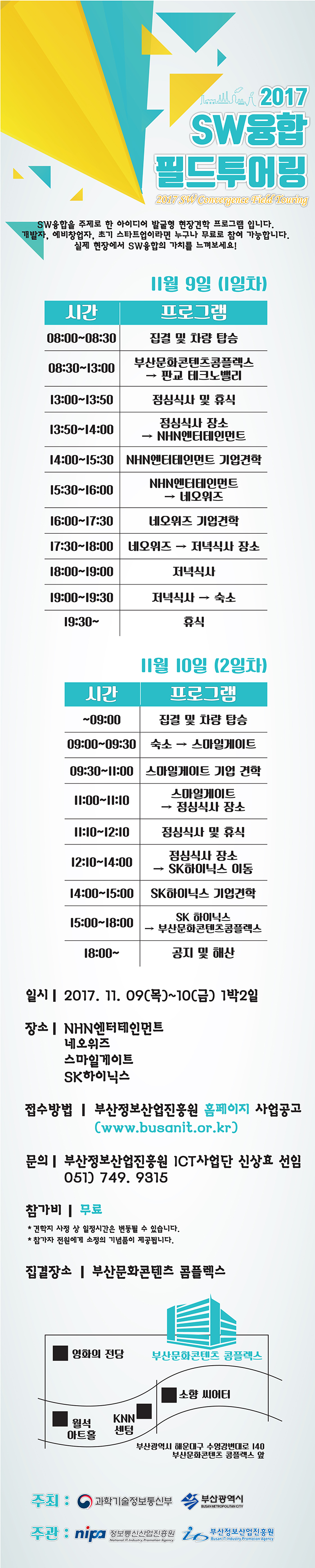 제10회 SW융합 필드투어링 참가자 모집