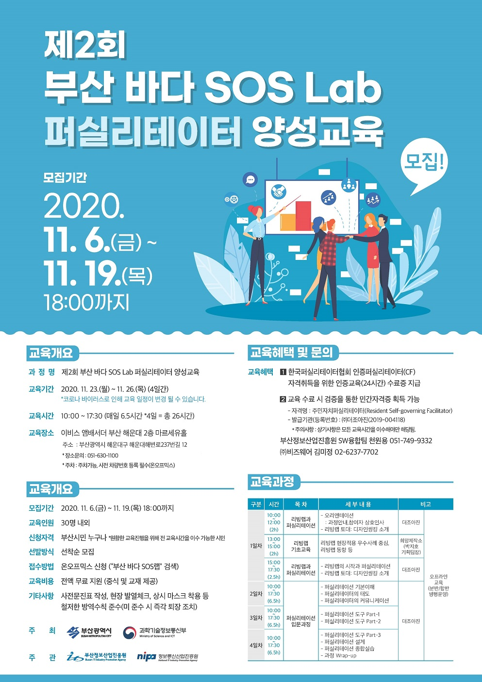 제2회 부산 바다 SOS Lab 퍼실리테이터 양성 교육 개최